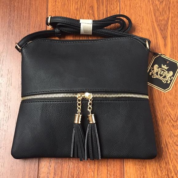 8a98eb59d512 MKII Sadie Tassel Crossbody bag